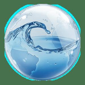 water-in-bubble